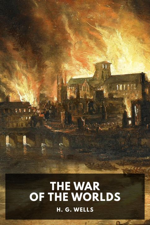 The cover for the Standard Ebooks edition of The War of the Worlds