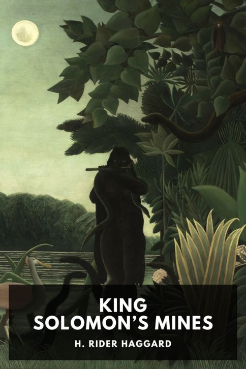 The cover for the Standard Ebooks edition of King Solomon's Mines