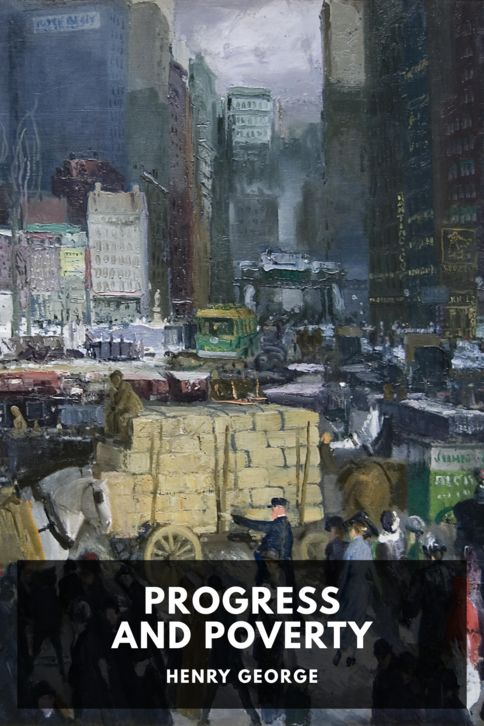 The cover for the Standard Ebooks edition of Progress and Poverty, by Henry George