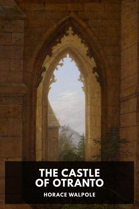 The cover for the Standard Ebooks edition of The Castle of Otranto