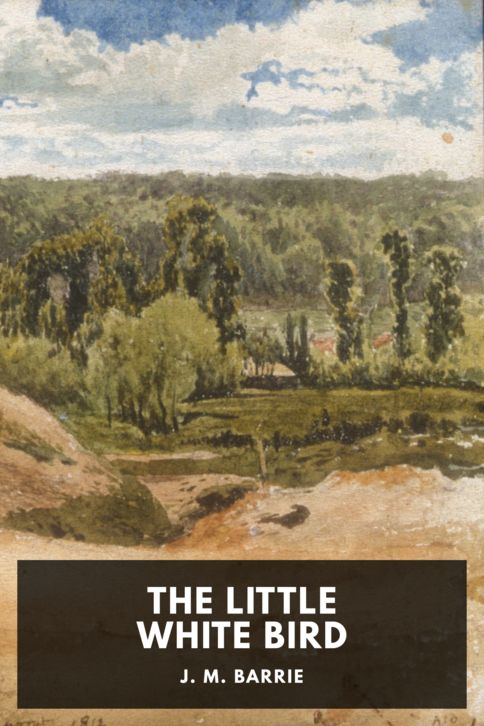 The cover for the Standard Ebooks edition of The Little White Bird