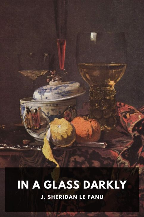 The cover for the Standard Ebooks edition of In a Glass Darkly