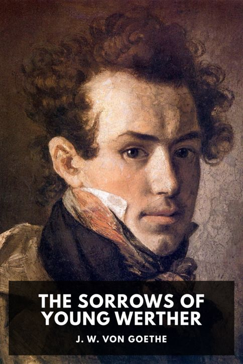 The cover for the Standard Ebooks edition of The Sorrows of Young Werther