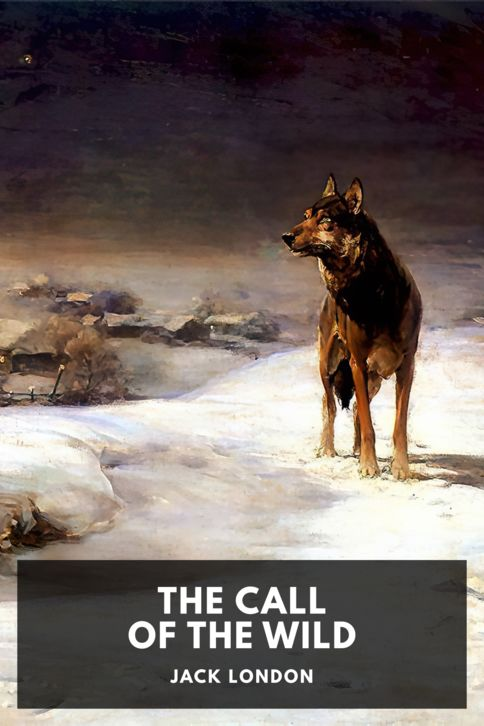The cover for the Standard Ebooks edition of The Call of the Wild, by Jack London