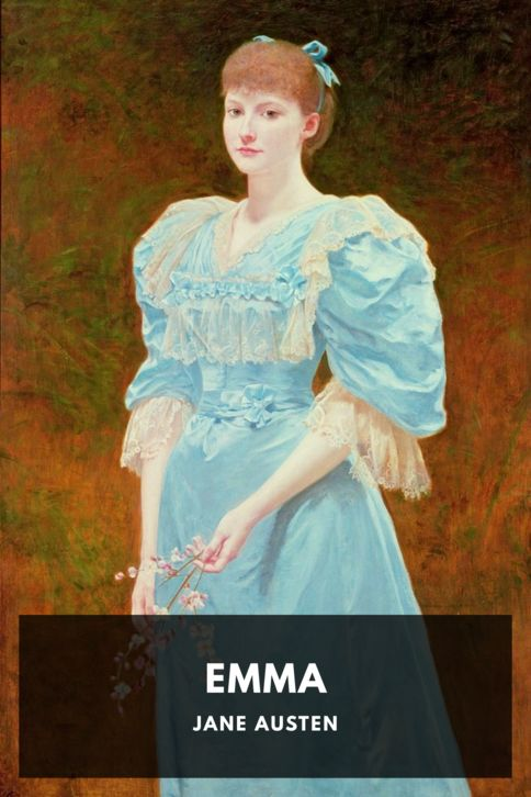 The cover for the Standard Ebooks edition of Emma, by Jane Austen