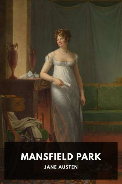 The cover for the Standard Ebooks edition of Mansfield Park, by Jane Austen