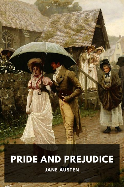 The cover for the Standard Ebooks edition of Pride and Prejudice