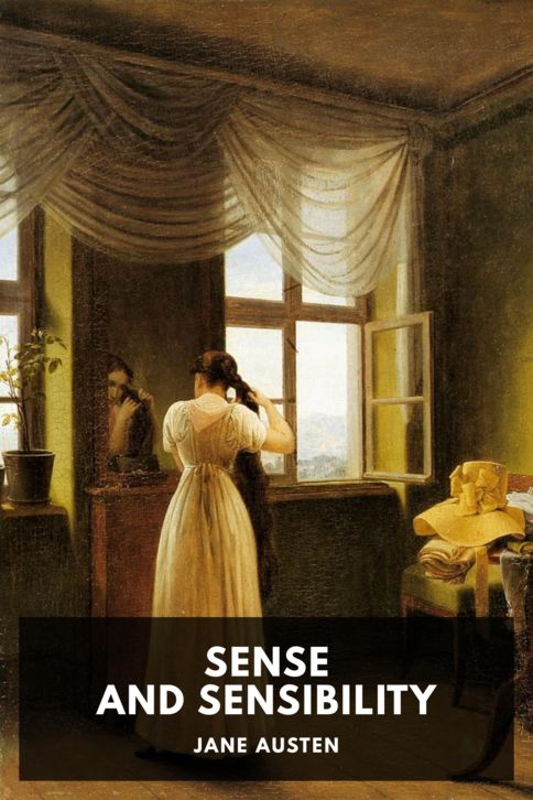The cover for the Standard Ebooks edition of Sense and Sensibility