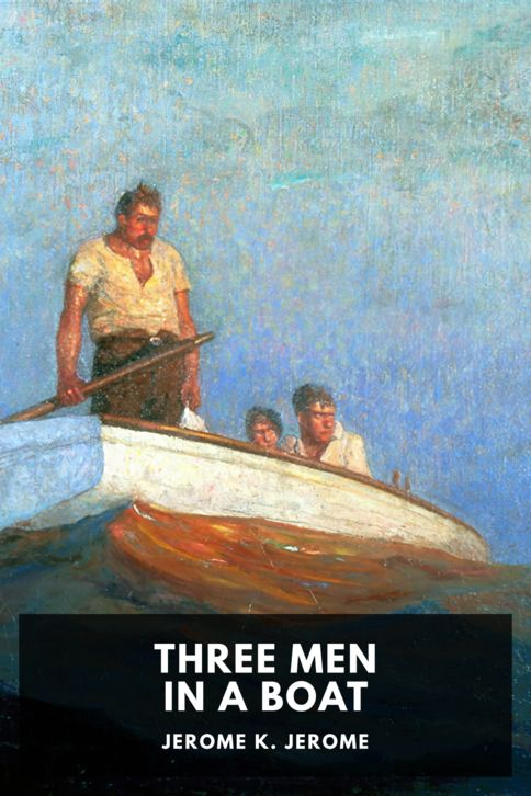 The cover for the Standard Ebooks edition of Three Men in a Boat