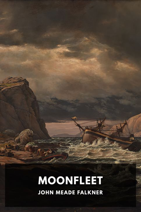 The cover for the Standard Ebooks edition of Moonfleet, by John Meade Falkner