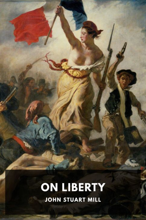 The cover for the Standard Ebooks edition of On Liberty
