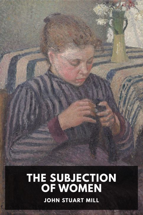 The cover for the Standard Ebooks edition of The Subjection of Women, by John Stuart Mill