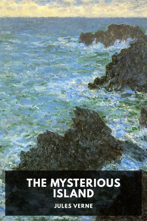 The cover for the Standard Ebooks edition of The Mysterious Island
