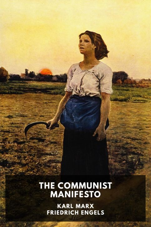 The cover for the Standard Ebooks edition of The Communist Manifesto