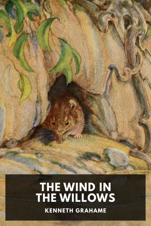 The cover for the Standard Ebooks edition of The Wind in the Willows
