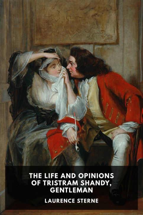 The cover for the Standard Ebooks edition of The Life and Opinions of Tristram Shandy, Gentleman