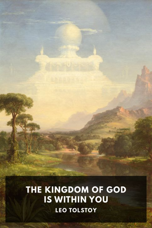 The cover for the Standard Ebooks edition of The Kingdom of God Is Within You