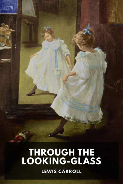 The cover for the Standard Ebooks edition of Through the Looking-Glass