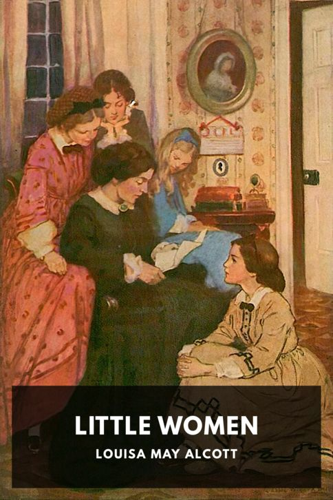 The cover for the Standard Ebooks edition of Little Women