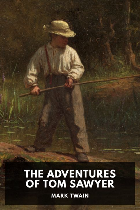 The cover for the Standard Ebooks edition of The Adventures of Tom Sawyer