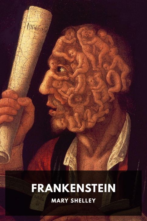 The cover for the Standard Ebooks edition of Frankenstein