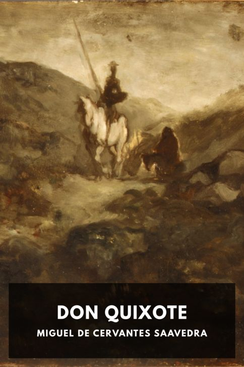 The cover for the Standard Ebooks edition of Don Quixote