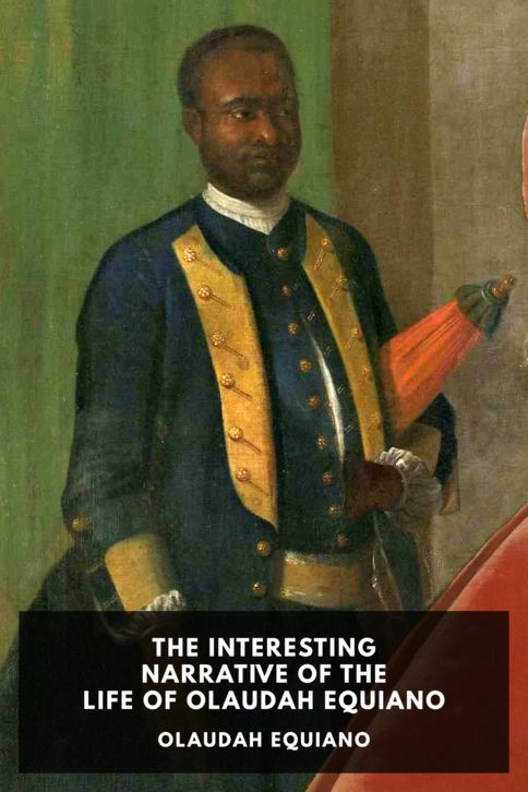 The cover for the Standard Ebooks edition of The Interesting Narrative of the Life of Olaudah Equiano, by Olaudah Equiano