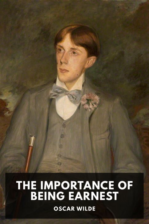 The cover for the Standard Ebooks edition of The Importance of Being Earnest