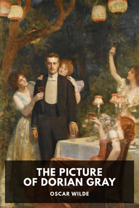 The cover for the Standard Ebooks edition of The Picture of Dorian Gray