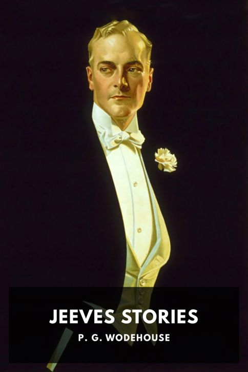 The cover for the Standard Ebooks edition of Jeeves Stories, by P. G. Wodehouse