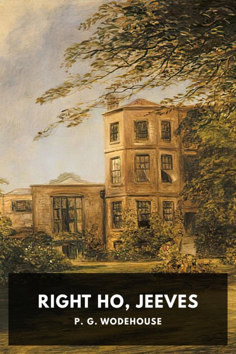 The cover for the Standard Ebooks edition of Right Ho, Jeeves
