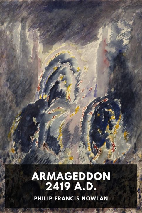 The cover for the Standard Ebooks edition of Armageddon 2419 A.D.