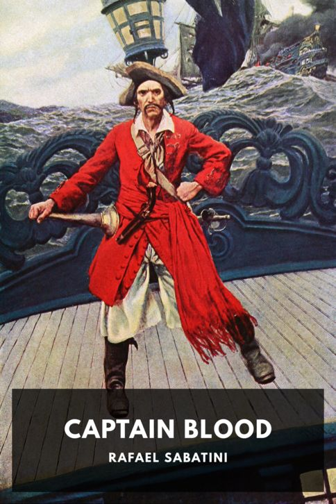 The cover for the Standard Ebooks edition of Captain Blood