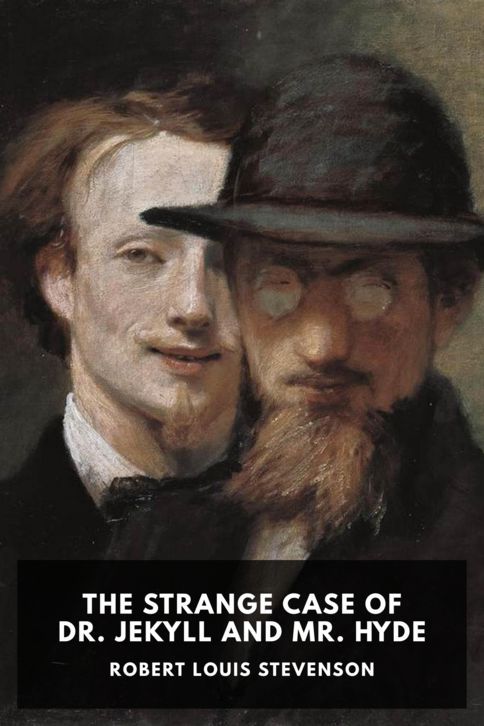 The cover for the Standard Ebooks edition of The Strange Case of Dr. Jekyll and Mr. Hyde, by Robert Louis Stevenson