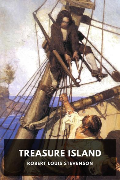 The cover for the Standard Ebooks edition of Treasure Island
