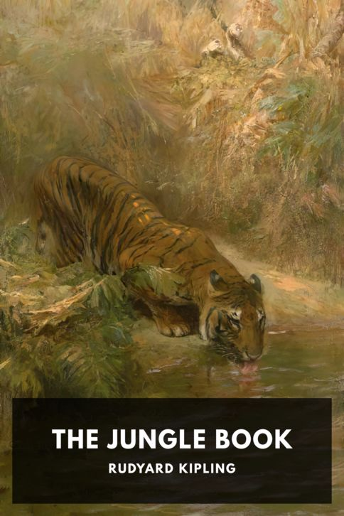 The cover for the Standard Ebooks edition of The Jungle Book, by Rudyard Kipling