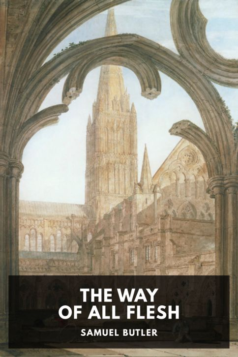 The cover for the Standard Ebooks edition of The Way of All Flesh