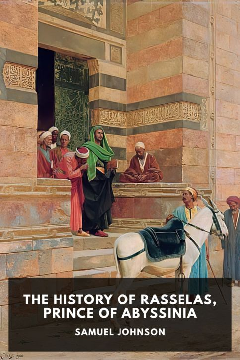 The cover for the Standard Ebooks edition of The History of Rasselas, Prince of Abyssinia