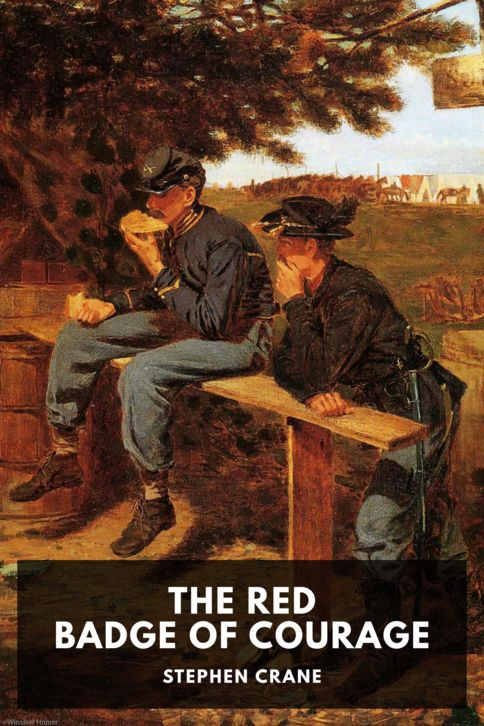The cover for the Standard Ebooks edition of The Red Badge of Courage