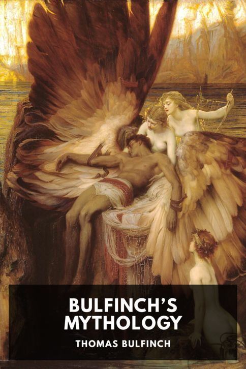 The cover for the Standard Ebooks edition of Bulfinch's Mythology, by Thomas Bulfinch