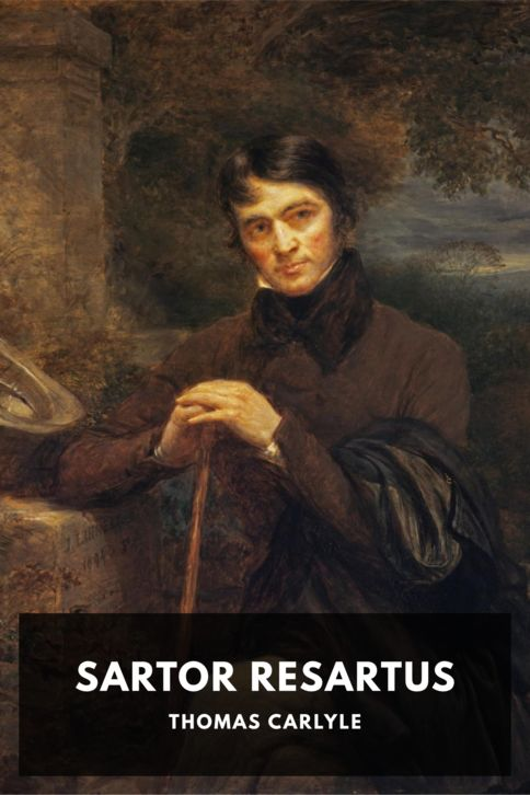 The cover for the Standard Ebooks edition of Sartor Resartus