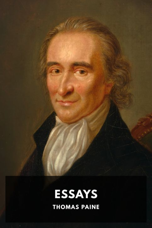 The cover for the Standard Ebooks edition of Essays, by Thomas Paine