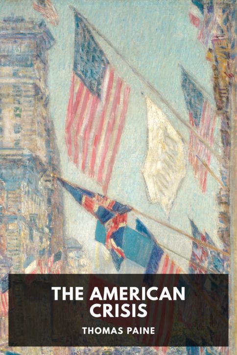 The cover for the Standard Ebooks edition of The American Crisis, by Thomas Paine