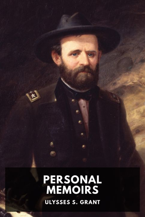The cover for the Standard Ebooks edition of Personal Memoirs of Ulysses S. Grant