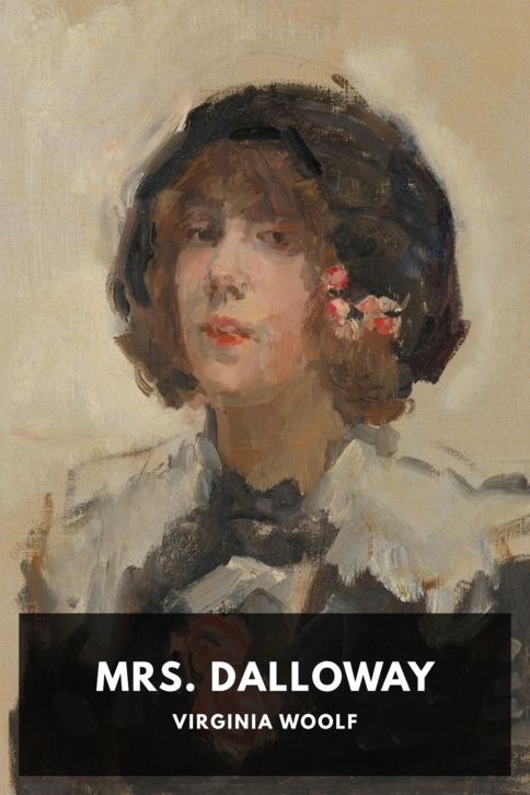 The cover for the Standard Ebooks edition of Mrs. Dalloway, by Virginia Woolf
