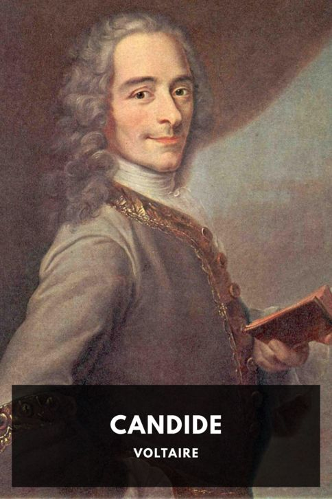 The cover for the Standard Ebooks edition of Candide, by Voltaire. Translated by The Modern Library