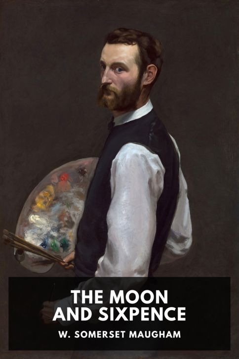 The cover for the Standard Ebooks edition of The Moon and Sixpence