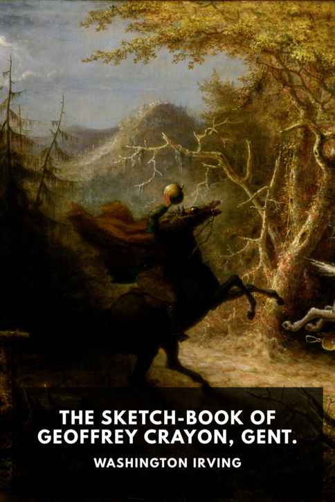 The cover for the Standard Ebooks edition of The Sketch-Book of Geoffrey Crayon, Gent.