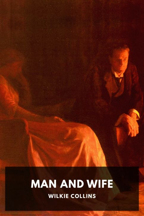 The cover for the Standard Ebooks edition of Man and Wife, by Wilkie Collins