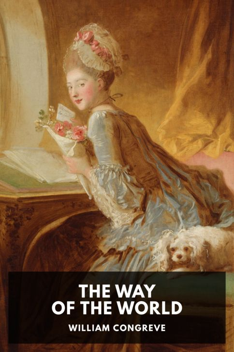 The cover for the Standard Ebooks edition of The Way of the World, by William Congreve